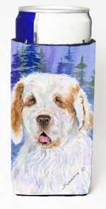 Carolines Treasures SS8008MUK Clumber Spaniel Michelob Ultra s For Slim Cans - 12 oz.