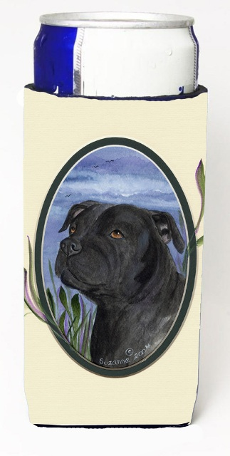 Carolines Treasures SS8017MUK Staffie Michelob Ultra s For Slim Cans - 12 oz.