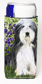 Carolines Treasures SS8022MUK Bearded Collie Michelob Ultra s For Slim Cans - 12 oz.