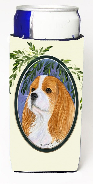 Carolines Treasures SS8024MUK Cavalier Spaniel Michelob Ultra s For Slim Cans - 12 oz.