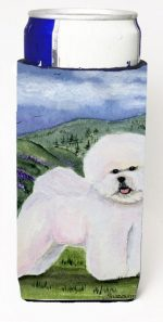 Carolines Treasures SS8025MUK Bichon Frise Michelob Ultra s For Slim Cans - 12 oz.