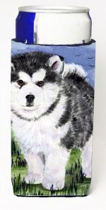 Carolines Treasures SS8027MUK Alaskan Malamute Michelob Ultra s For Slim Cans - 12 oz.