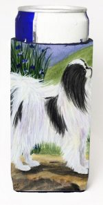 Carolines Treasures SS8028MUK Japanese Chin Michelob Ultra s For Slim Cans - 12 oz.