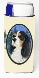 Carolines Treasures SS8036MUK Cavalier Spaniel Michelob Ultra s For Slim Cans - 12 oz.