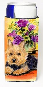 Carolines Treasures SS8297MUK Norwich Terrier Michelob Ultra bottle sleeves For Slim Cans - 12 oz.