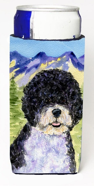 Carolines Treasures SS8303MUK Portuguese Water Dog Michelob Ultra bottle sleeves For Slim Cans - 12 oz.