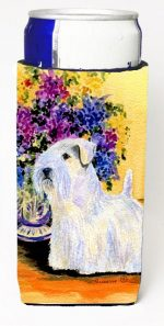 Carolines Treasures SS8307MUK Sealyham Terrier Michelob Ultra bottle sleeves For Slim Cans - 12 oz.