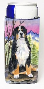Carolines Treasures SS8336MUK Bernese Mountain Dog Michelob Ultra bottle sleeves For Slim Cans - 12 oz.