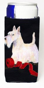 Carolines Treasures SS8553MUK Scottish Terrier Michelob Ultra bottle sleeves For Slim Cans - 12 oz.