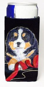Carolines Treasures SS8569MUK Bernese Mountain Dog Michelob Ultra bottle sleeves For Slim Cans - 12 oz.