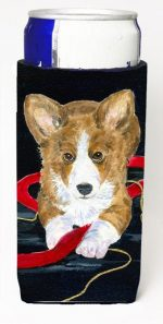Carolines Treasures SS8570MUK Corgi Michelob Ultra bottle sleeves For Slim Cans - 12 oz.
