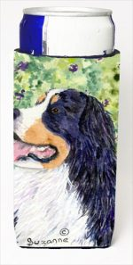 Carolines Treasures SS8706MUK Bernese Mountain Dog Michelob Ultra bottle sleeves For Slim Cans - 12 Oz.