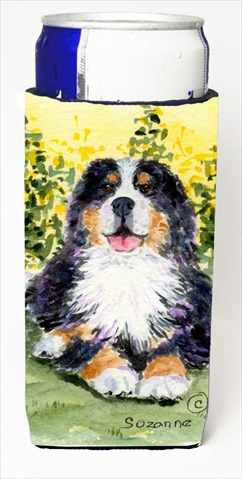 Carolines Treasures SS8708MUK Bernese Mountain Dog Michelob Ultra bottle sleeves For Slim Cans - 12 Oz.