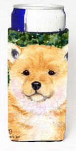 Carolines Treasures SS8726MUK Shiba Inu Michelob Ultra bottle sleeves For Slim Cans - 12 oz.