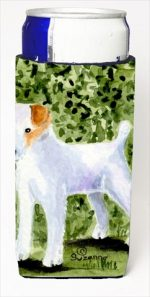 Carolines Treasures SS8734MUK Jack Russell Terrier Michelob Ultra bottle sleeves For Slim Cans - 12 Oz.