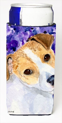Carolines Treasures SS8740MUK Jack Russell Terrier Michelob Ultra bottle sleeves For Slim Cans - 12 Oz.