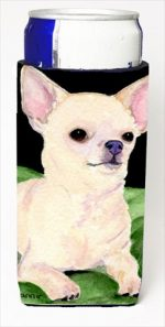 Carolines Treasures SS8789MUK Chihuahua Michelob Ultra bottle sleeves For Slim Cans - 12 Oz.