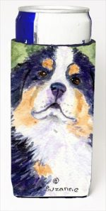 Carolines Treasures SS8837MUK Bernese Mountain Dog Michelob Ultra bottle sleeves For Slim Cans - 12 Oz.