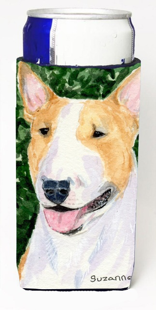 Carolines Treasures SS8873MUK Bull Terrier Michelob Ultra s For Slim Cans - 12 oz.