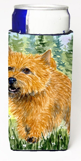 Carolines Treasures SS8878MUK Norwich Terrier Michelob Ultra s For Slim Cans - 12 oz.