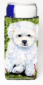 Carolines Treasures SS8913MUK Bichon Frise Michelob Ultra s For Slim Cans - 12 oz.