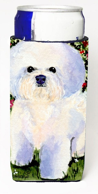 Carolines Treasures SS8914MUK Bichon Frise Michelob Ultra s For Slim Cans - 12 oz.