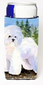 Carolines Treasures SS8916MUK Bichon Frise Michelob Ultra s For Slim Cans - 12 oz.
