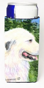 Carolines Treasures SS8922MUK Great Pyrenees Michelob Ultra s For Slim Cans - 12 oz.
