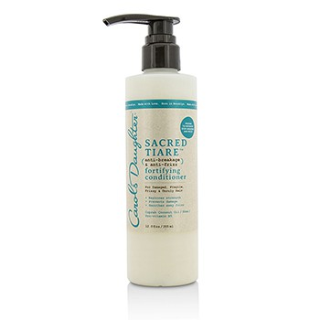 Carols Daughter 211340 Sacred Tiare Anti-Breakage & Anti-Frizz Fortifying Conditioner for Damaged Fragile Frizzy & Unruly Hair