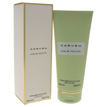 Carven W-SC-4445 6.66 oz Leau De Toilette Light Body Cream for Women