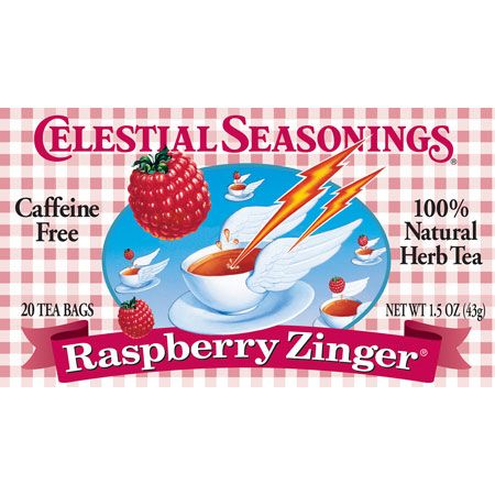 Celestial Seasonings 63488 Raspberry Zinger Herb Tea