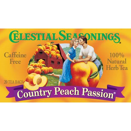 Celestial Seasonings 63492 Country Peach Passion Herb Tea