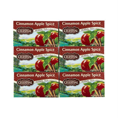 Celestial Seasonings 720722 Celestial Seasonings Cinnamon Apple Spice Tea - 20 Bags