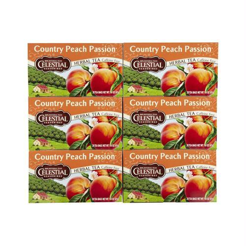 Celestial Seasonings 720763 Celestial Seasonings Herbal Tea - Country P Passion - Caffeine Free - 20 Bags