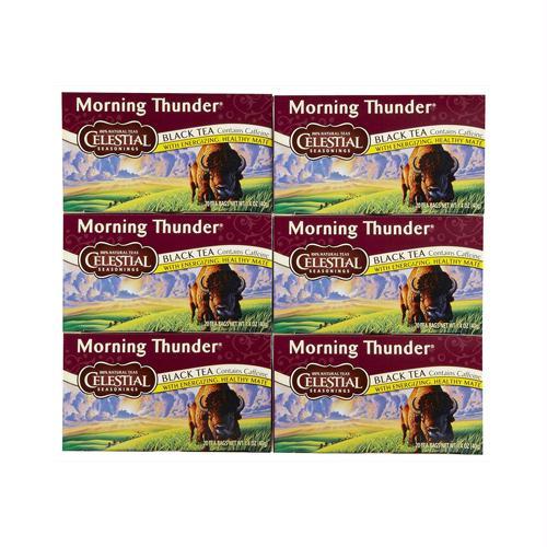Celestial Seasonings 721001 Celestial Seasonings Black Tea - Morning Thunder - 20 Bags