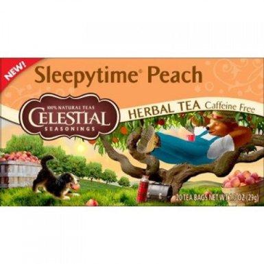 Celestial Seasonings BG11426 Celestial Seasonings Sleepytime Peach - 6x20BAG