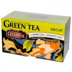 Celestial Seasonings Green Tea Caffeine Free - 20 Tea Bags -Pack of 6