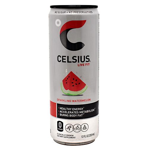 Celsius 5640029 Sparkling Watermelon Drink - 12 Per Case