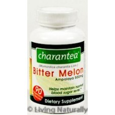 Charantea 0487207 Bitter Melon - 500 mg - 90 Vegetarian Capsules