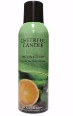 Cheerful Candle 189320 7 oz Room Air Infuser Spray - Sage & Citrus