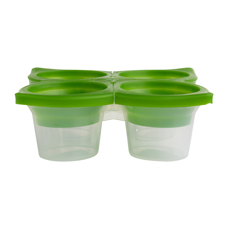 Chef N 6406508 SpiceCube Herb Freezer Tray Plastic - Green