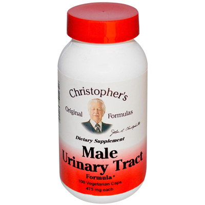 Christophers Male Urinary Tract - 450 mg - 100 Vegetarian Capsules