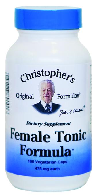 Christophers Original Formulas 644105 Female Tonic Formula - 100 Capsules