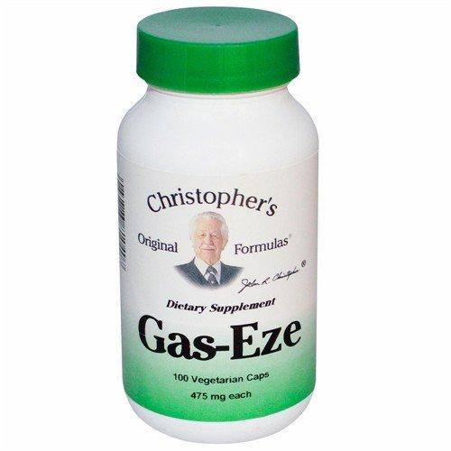 Christophers Original Formulas 681040 Gas-Eze 100 Vegetarian Capsules