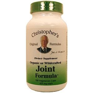Christophers Original Formulas 689130 Joint Formula 100 vegetarian capsules