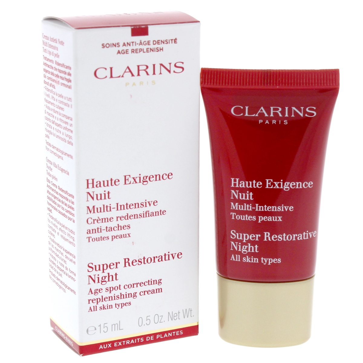 Clarins U-SC-4659 Super Restorative 0.5 oz Night Cream for Unisex