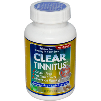 Clear Products 0408914 Clear Tinnitus - 60 Capsules