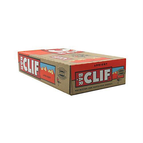 Clif Bar 472183 Clif Bar - Organic Apricot - Case of 12 - 2.4 oz