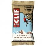 Clif Bar AY01801 Clif Bar Organic Coconut Chocolate Chip Bar -12x2.4 Oz