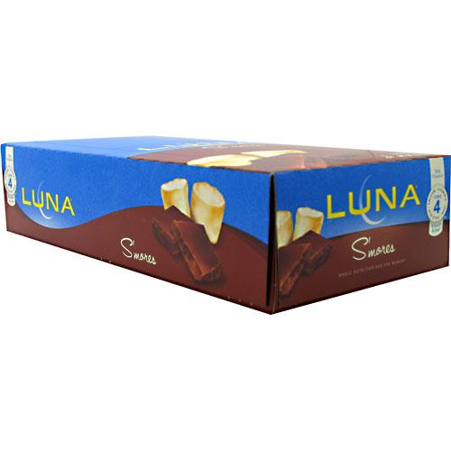 Clif Bar Luna Bar S'mores 15 ct - CLIFLUNA0012SMORBR